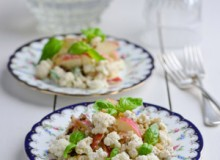 Cauliflower Waldorf Salad