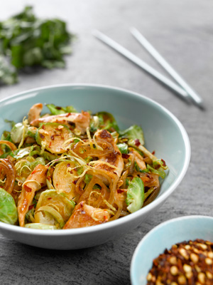 Stir Fried Sprouts