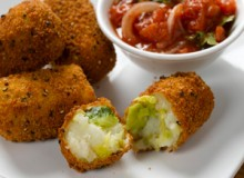Brussels Sprout and Chopin Potato Croquettes