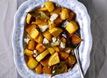 Honey Roast Turnip and Pumpkin