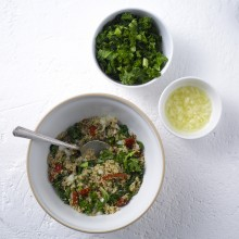 Kale Tabouli Salad