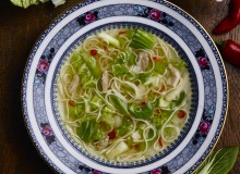 Chinese Cabbage and Chicken Noodle Soup copy